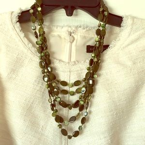 Jewelry - Green beaded necklace